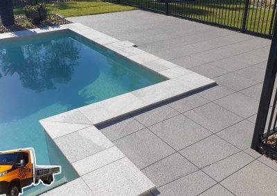 Decorative concrete coating