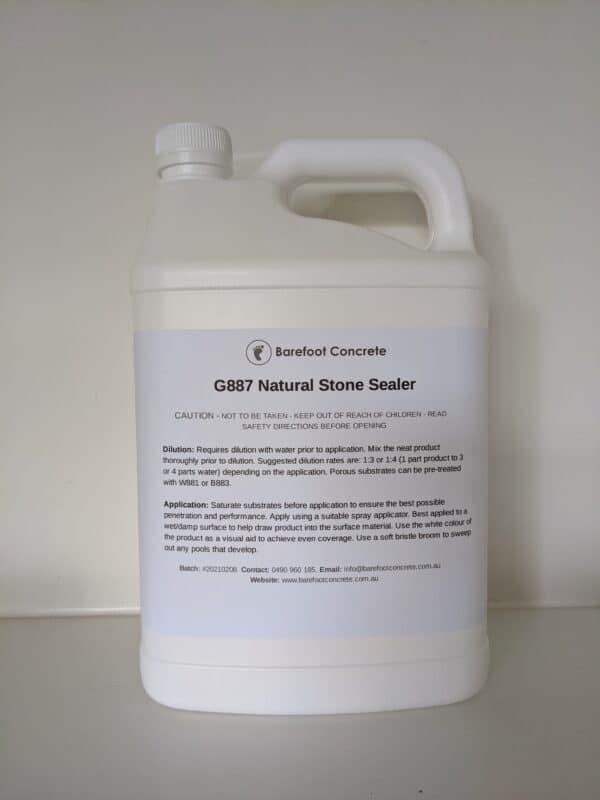 G887 Sealer 5Kg Back