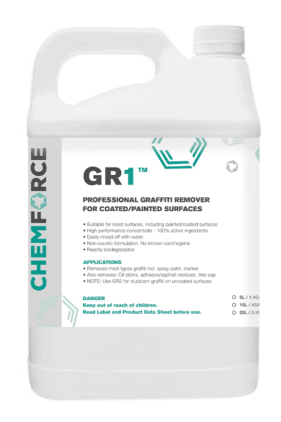 GR1 Professional graffiti remover