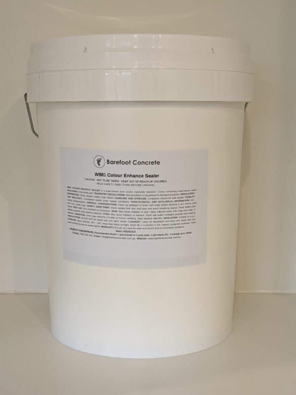 Water-based penetrating sealer